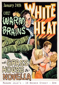 Warm Brains Poster