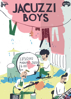 Jacuzzi Boys Poster